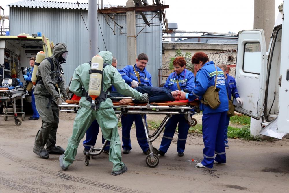 Участие Рязанской области во Всероссийской тренировке по гражданской обороне