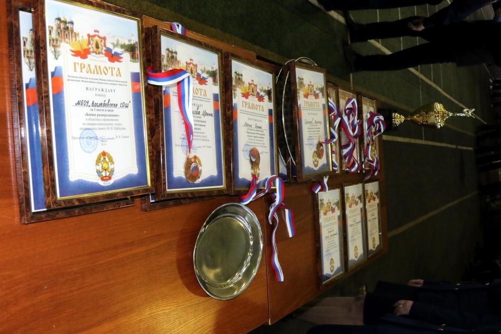 Соревнования по пожарно-прикладному спорту среди образовательных учреждений Рязанской области памяти Михаила Ивановича Шабурова