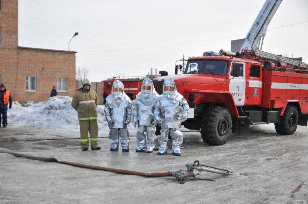 Участие Рязанской области в тренировке Центрального регионального центра МЧС России