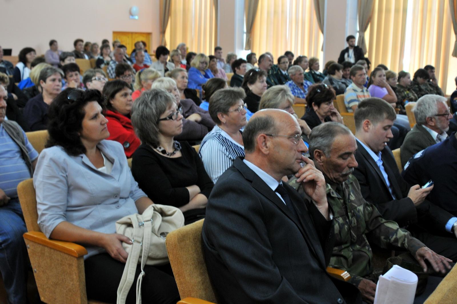 Показательное занятие в рамках «Месячника безопасности» в Шиловком районе