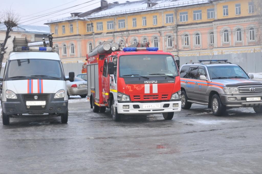 Отправка гуманитарного груза от Рязанской области
