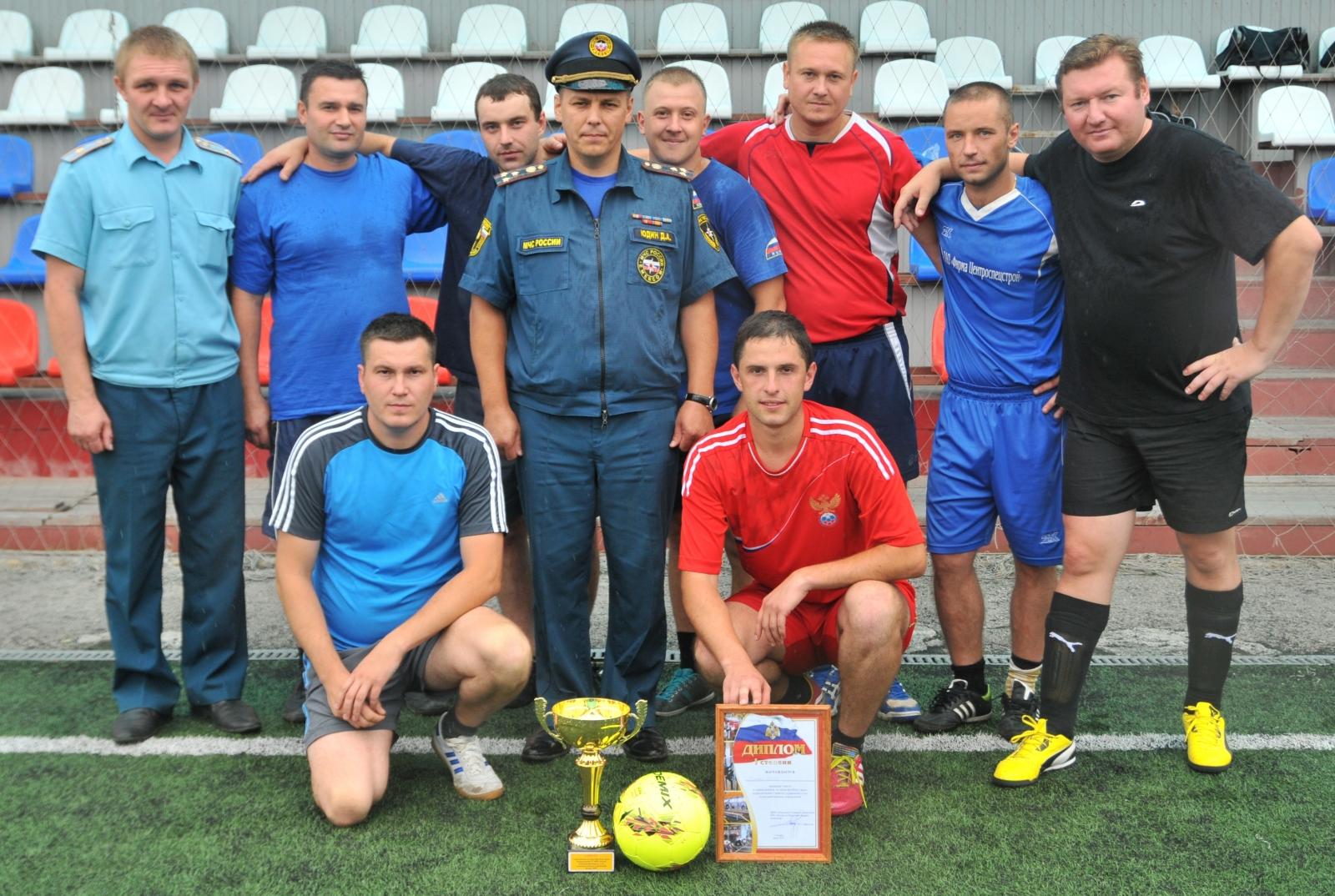 Турнир по мини-футболу, посвященный 25-летию МЧС России