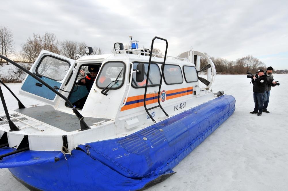 Совместное патрулирование инспекторов ГИМС и Рязанских журналистов