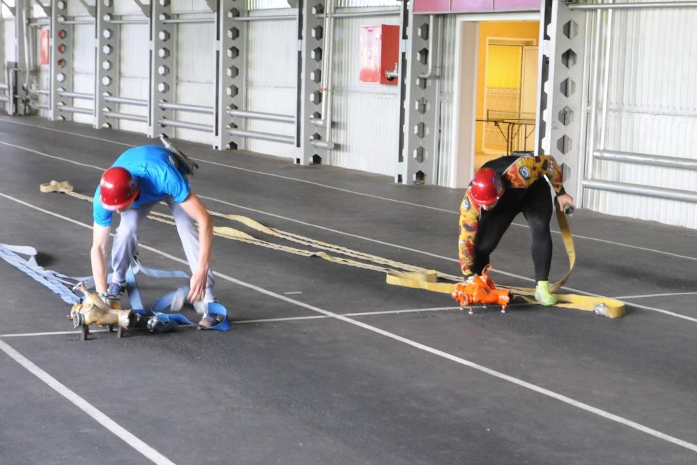 Соревнования по пожарно-прикладному спорту среди подразделений Главного управления МЧС России по Рязанской области