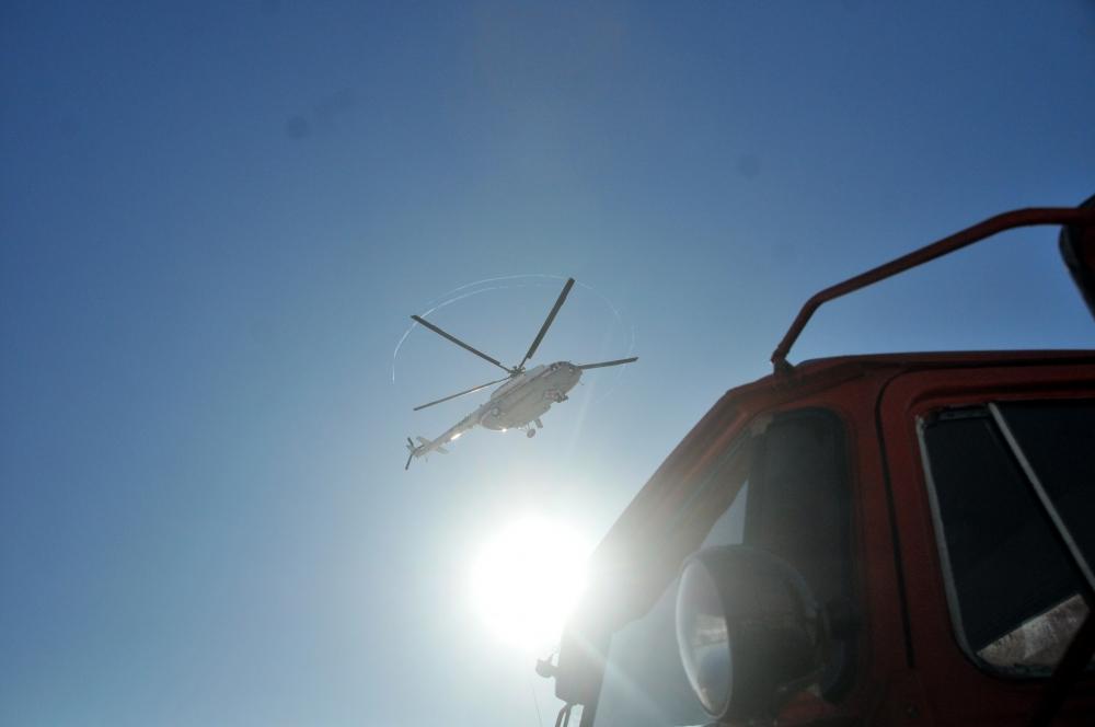 Оперативной группой ЦРЦ МЧС России проведена авиаразведка паводкоопасных районов Рязанской области