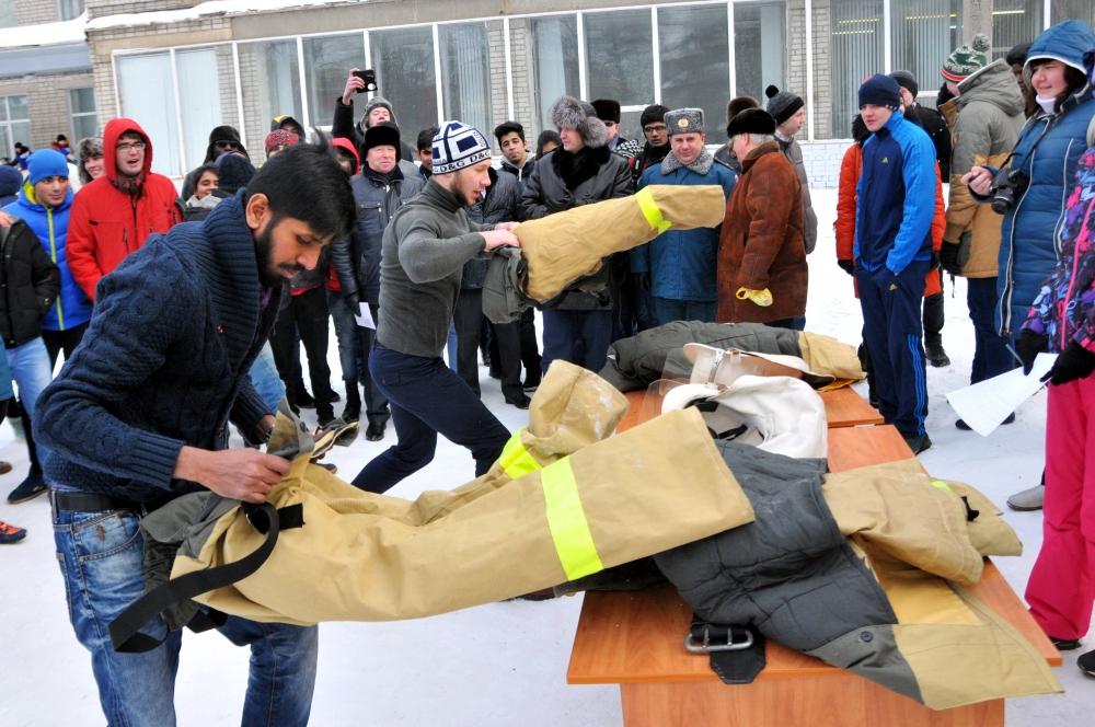 Участие сотрудников Главного управления МЧС России по Рязанской области в праздновании дня студента