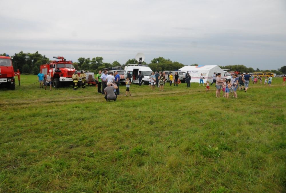 «Городок МЧС» представили рязанские спасатели и пожарные на фестивале «Рановское лето»