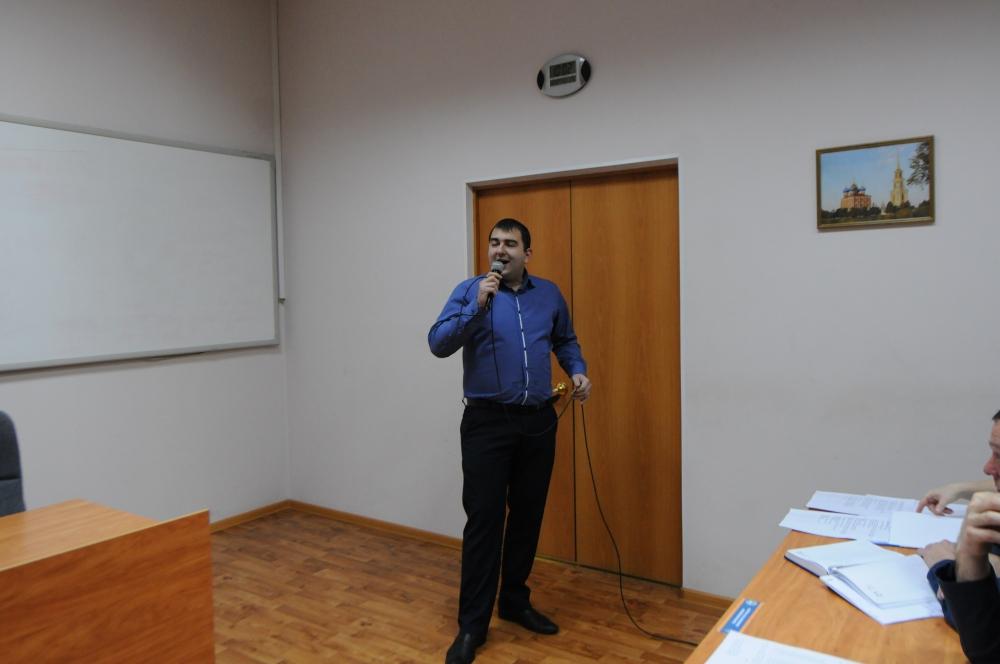 В преддверии Дня защитника Отечества Главном управлении МЧС России по Рязанской области прошло торжественное мероприятие