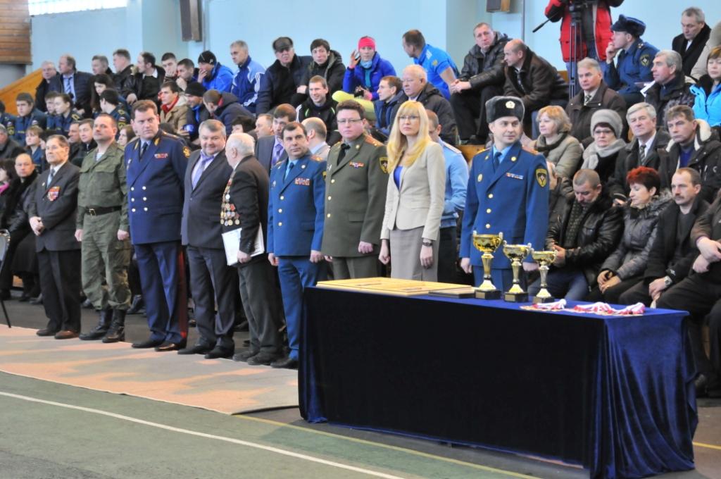 Соревнования по пожарно-прикладному спорту на первенство ЦРЦ МЧС России