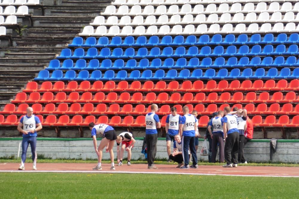 Соревнования по легкой атлетике среди подразделений Главного управления МЧС России по Рязанской области