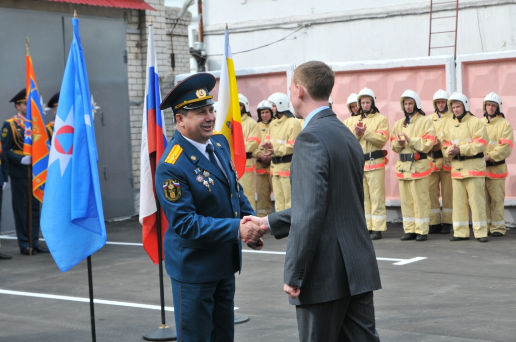 Мероприятия в честь 366-ой годовщины со дня образования пожарной охраны