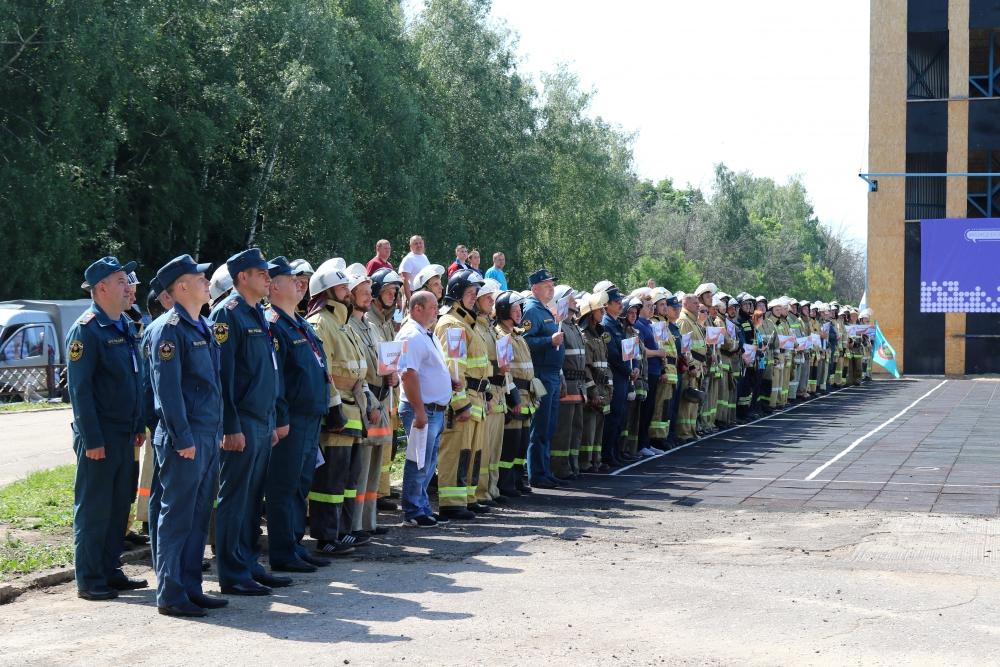Областные соревнования среди подразделений добровольной пожарной охраны на звание «Лучшая добровольная пожарная команда Рязанской области -  2019»