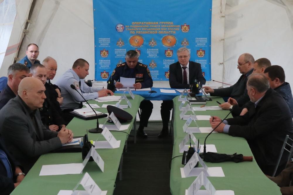 Всероссийские командно-штабные учения в Рязанской области