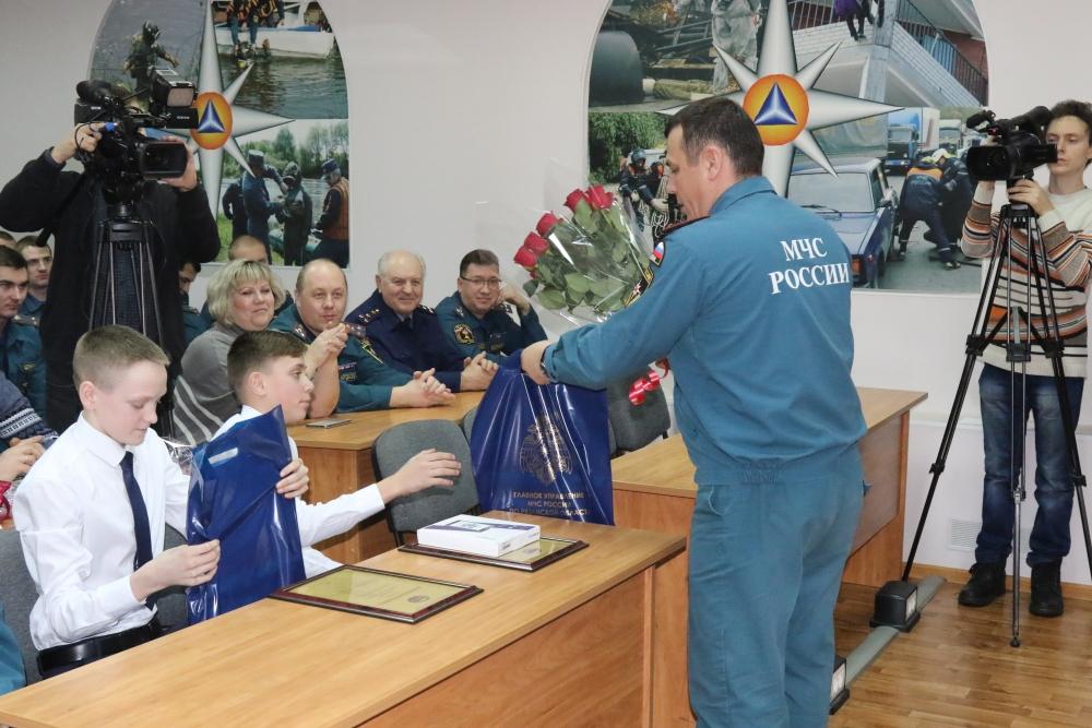 Ребят из Пителинского района Рязанской области наградили в рамках Всероссийского проекта «Дети-герои»