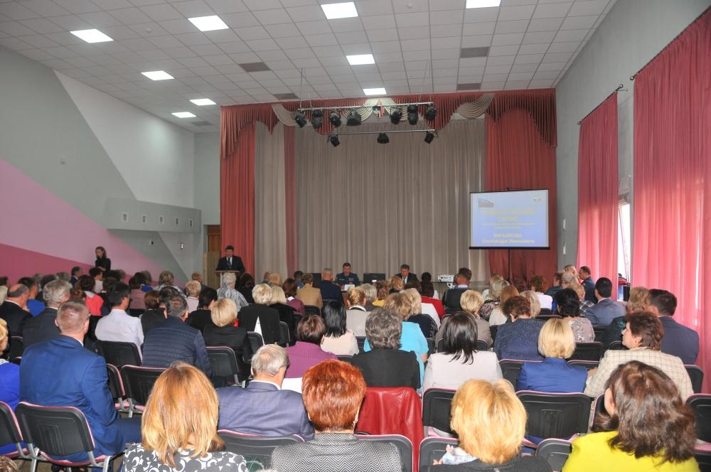 В рязанской школе состоялись занятия с руководителями отделов образования Рязанской области и директорами образовательных учреждений