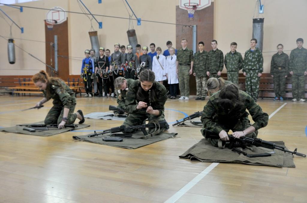 Встреча с кадетами школы №47 города Рязани
