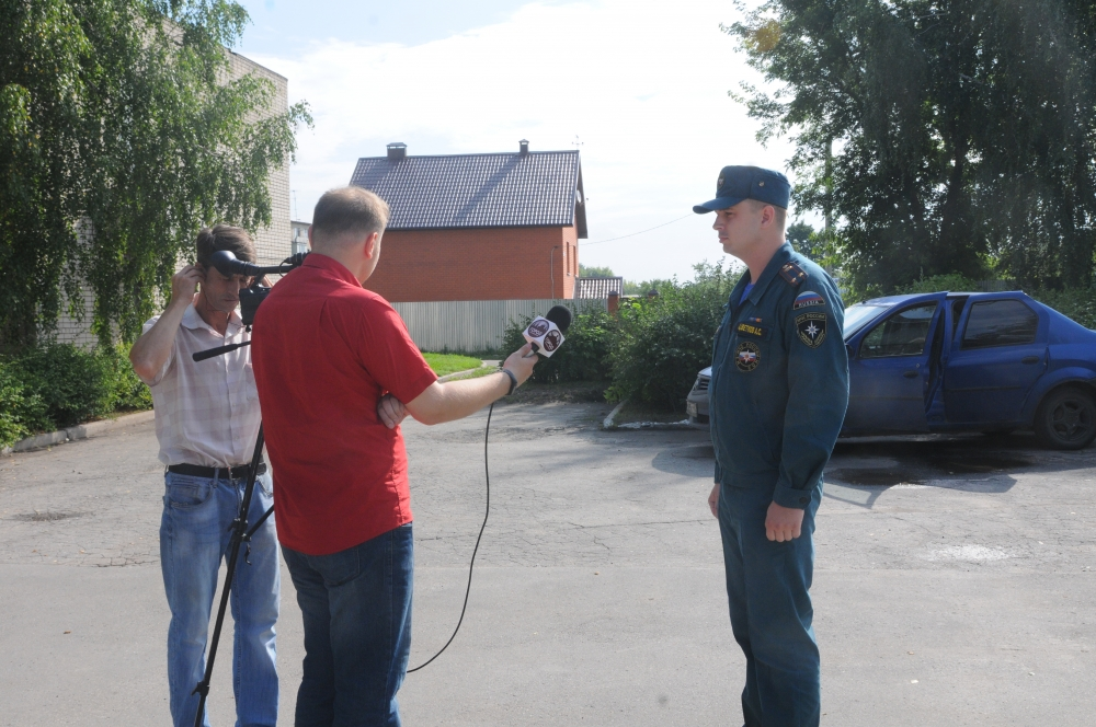 Пресс-тур, посвященный 91-ой годовщине образования органов государственного пожарного надзора