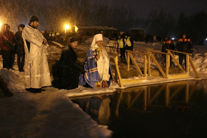 Обеспечение безопасности во время крещенских мероприятий
