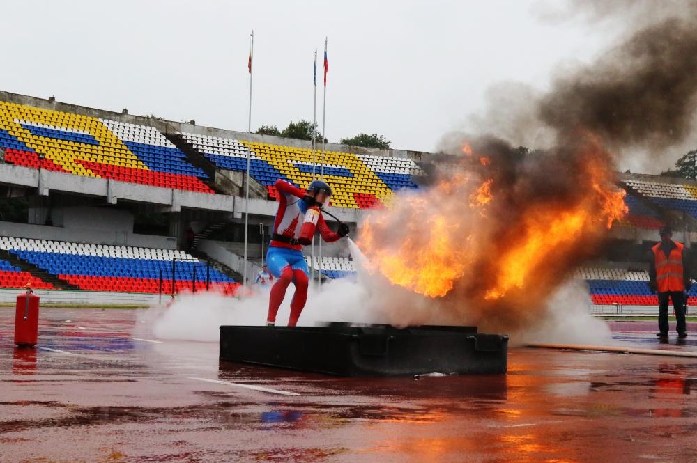 Межрегиональные соревнования по пожарно-спасательному спорту