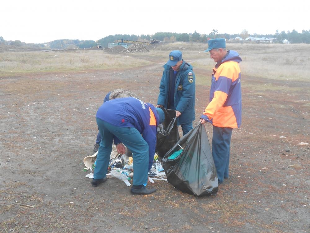 В Рязанской области состоялась акция «Чистый берег»