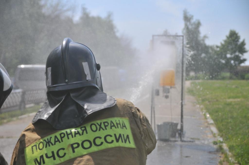 Cоревнования среди подразделений добровольной пожарной охраны муниципальных районов и городских округов области