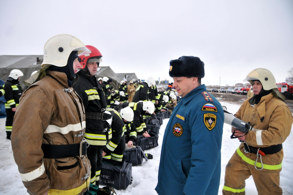 Проверка Рязанской области по готовности к половодью