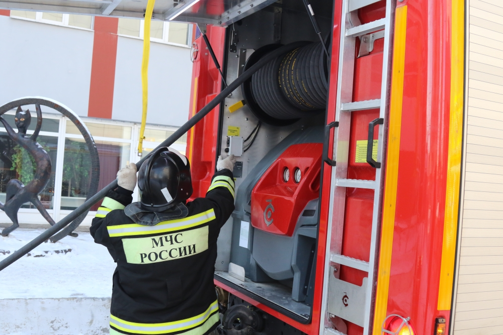 Рязанские пожарные и спасатели приняли участие в командно-штабном учении