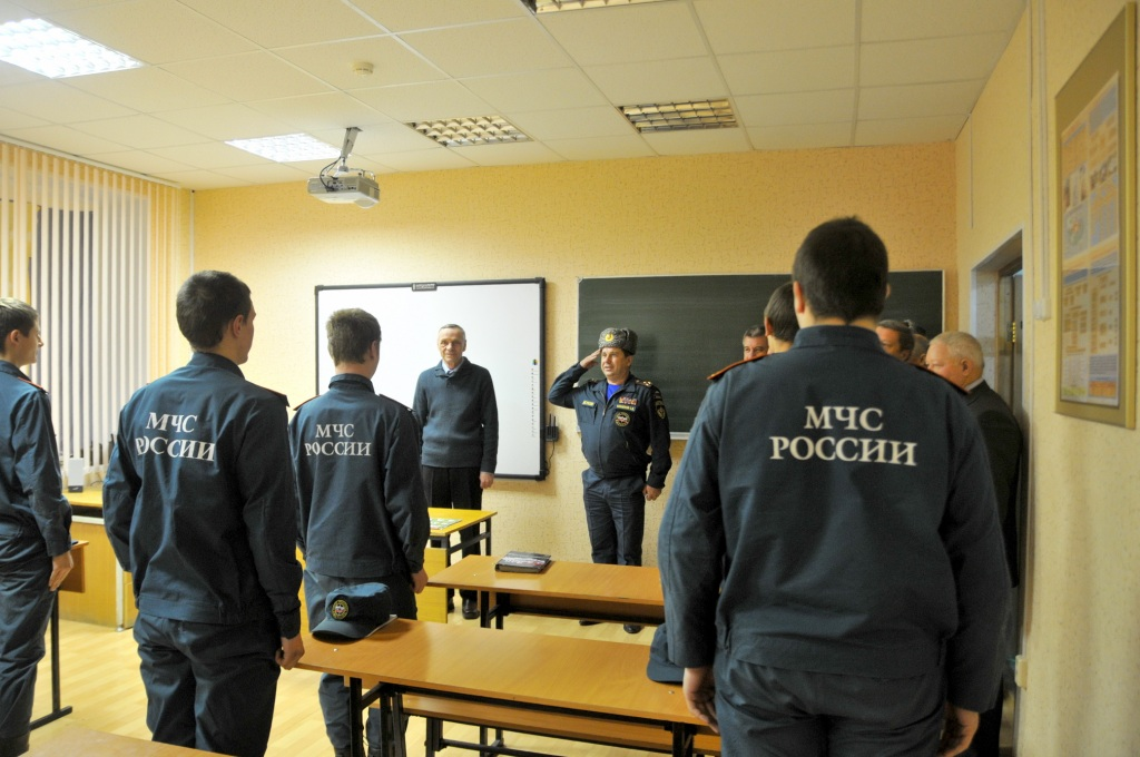 Посещение Рязанского аграрного техникума