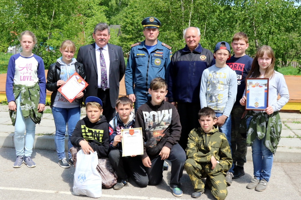 XX областные соревнования «Школа безопасности», посвященные 80-летию образования Рязанской области.