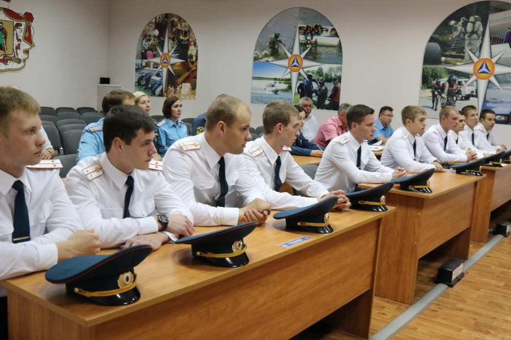 Учебно-методический сбор с лейтенантами