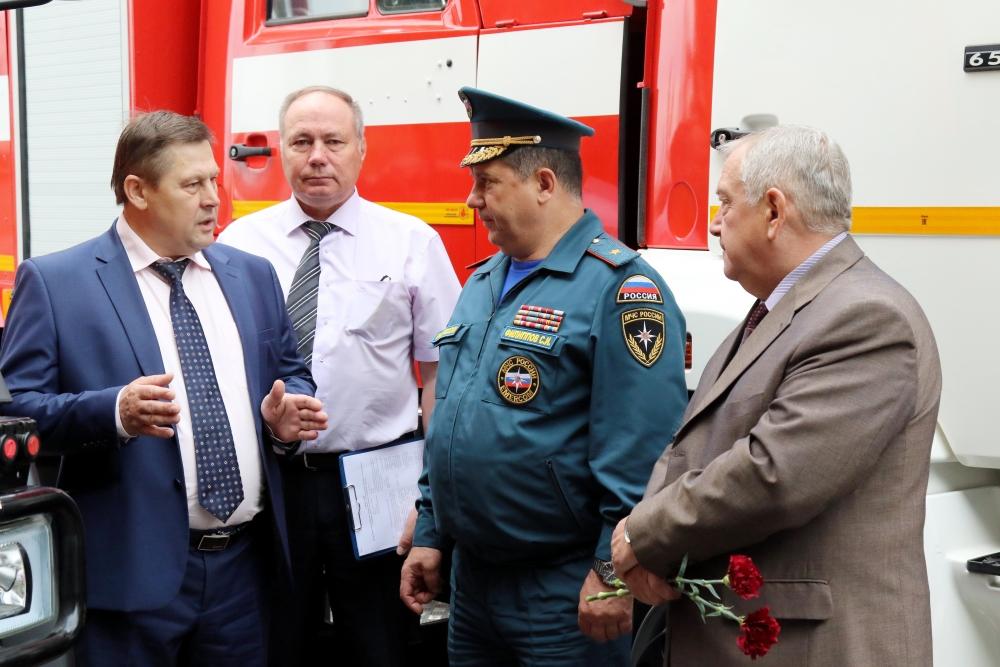 В Рязани почтили память огнеборцев, погибших при тушении крупного пожара в 1969 году