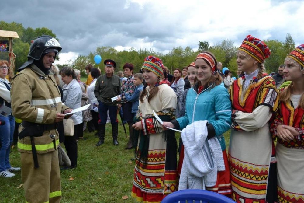 На страже пожарной безопасности в День рождения села Путятино