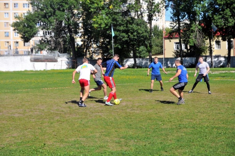 Завершился турнир по мини-футболу среди подразделений Главного управления МЧС России по Рязанской области и подчиненных учреждений