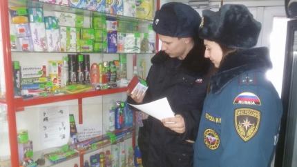В Клепиковском районе продавцам пиротехники напомнили правила безопасности