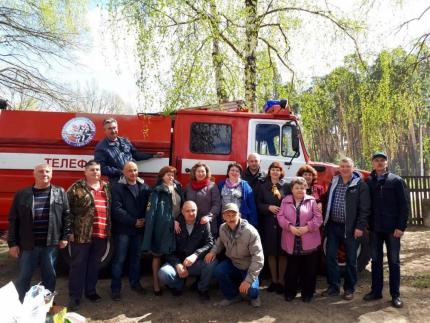 Встречи с ветеранами пожарной охраны Рязанской области