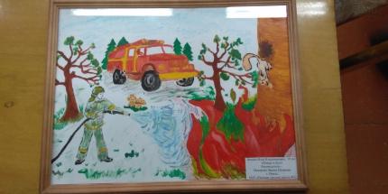 В Ряжске подвели итоги районных этапов конкурсов детско-юношеского творчества на противопожарную тематику «Неопалимая Купина» и «370 лет пожарной охране»