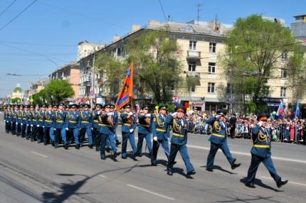 9 мая сотрудники Главного управления МЧС России по Рязанской области приняли участие в параде, посвященном 71-ой годовщине Победы в Великой Отечественной войне