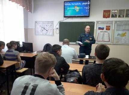 Накануне майских праздников в образовательных организациях Кадомского района прошли уроки «Основы безопасности жизнедеятельности»
