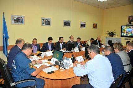 Заседание комиссии по предупреждению и ликвидации чрезвычайных ситуаций при Правительстве Рязанской области