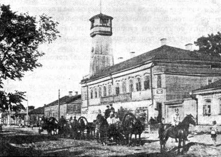 Краткий очерк состояния противопожарного дела в России в период до 1917 года.