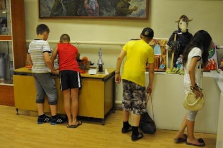 Посещение музея Главного управления МЧС по Рязанской области учащимися 29 школы