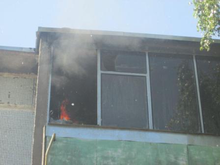 Трое добровольцев спасли дом от пожара