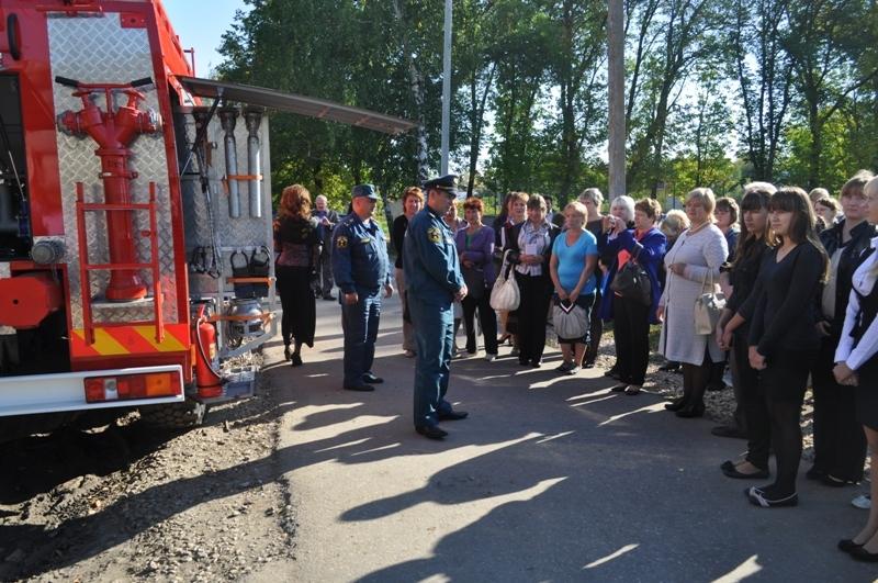 «Месячник безопасности» в Чучковском районе