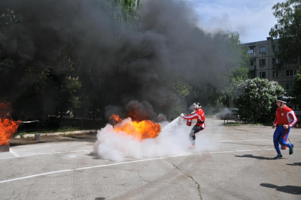 Соревнования по пожарно-прикладному спорту на Кубок им. И.Ф. Зайцева