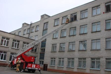 Учения в средней школе №16 города Рязани