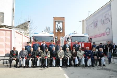 Профессиональный праздник пожарной охраны