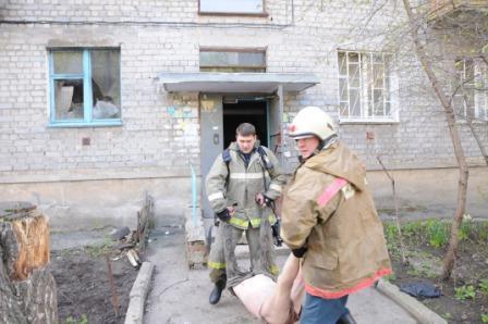 Пожар на улице Ленинского Комсомола