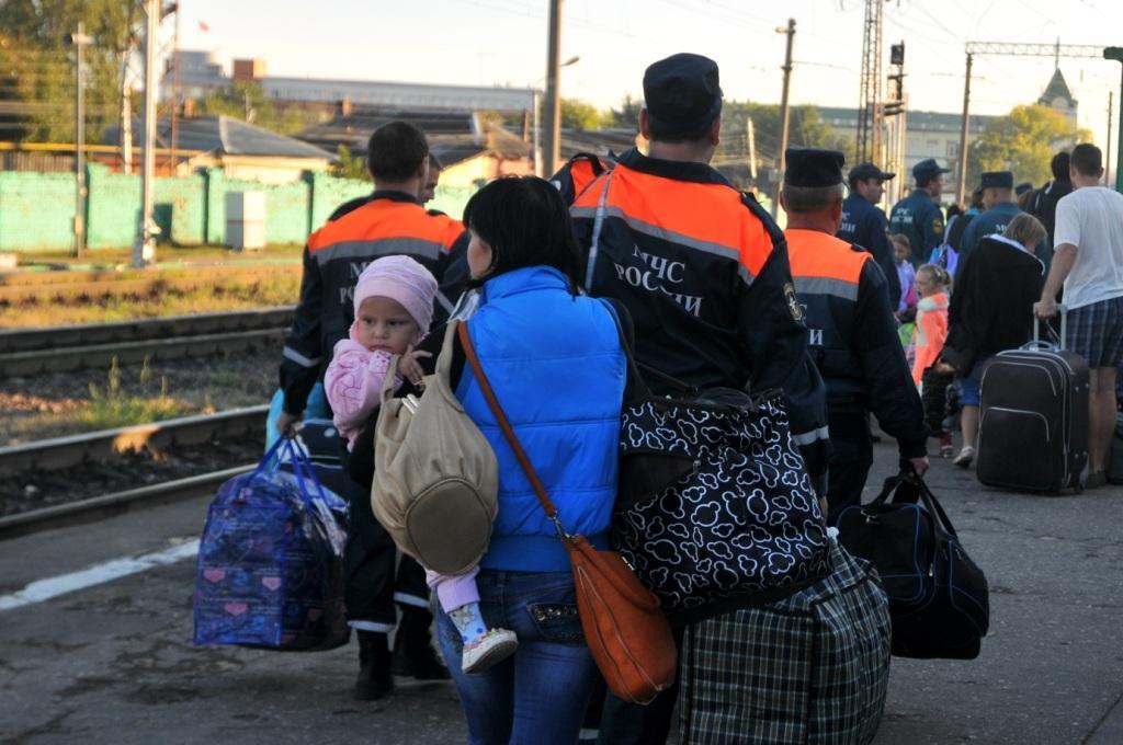 В Рязанскую область прибыли жители Украины