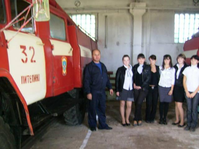 Дни открытых дверей в пожарных подразделениях