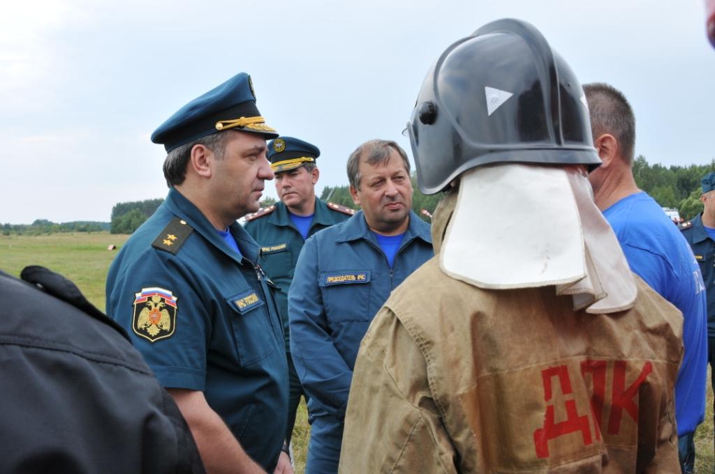 Рабочий визит Министра В.А.Пучкова в Рязанскую область